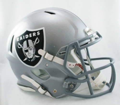 Oakland Raiders Helmet Riddell Authentic Full Size Speed Style