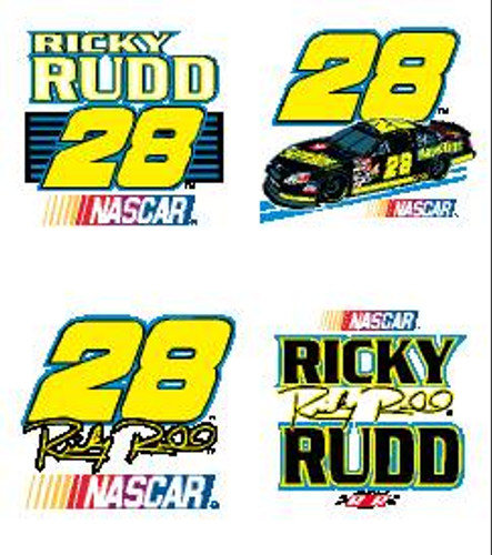 Ricky Rudd Temporary Tattoos