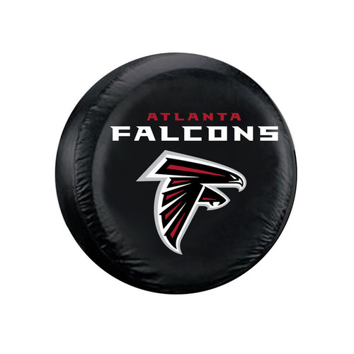Atlanta Falcons Tire Cover Standard Size Black
