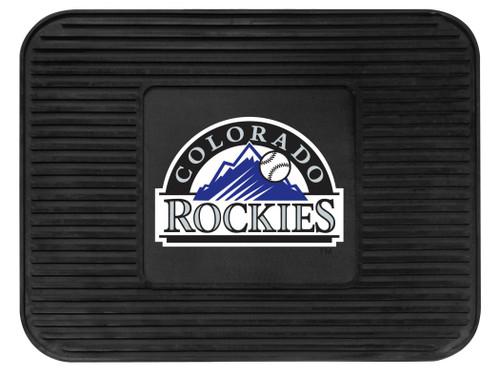 Colorado Rockies Car Mat Heavy Duty Vinyl Rear Seat