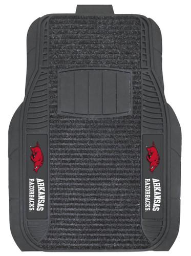 Arkansas Razorbacks Car Mats - Deluxe Set