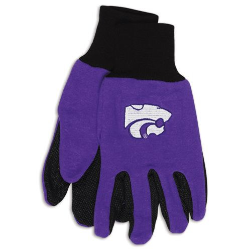 Kansas State Wildcats Two Tone Gloves - Adult