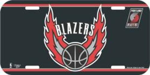 Portland Blazers License Plate