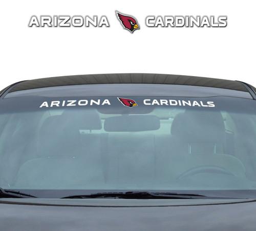Arizona Cardinals Decal 35x4 Windshield
