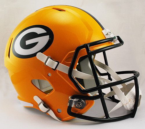Green Bay Packers Deluxe Replica Speed Helmet