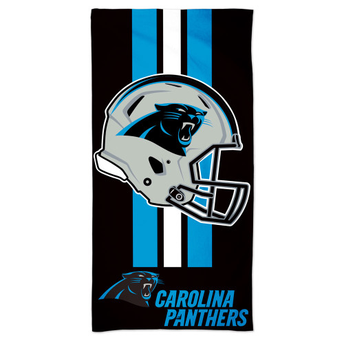 Carolina Panthers Towel 30x60 Beach Style