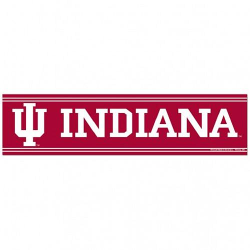 Indiana Hoosiers Bumper Sticker - Special Order