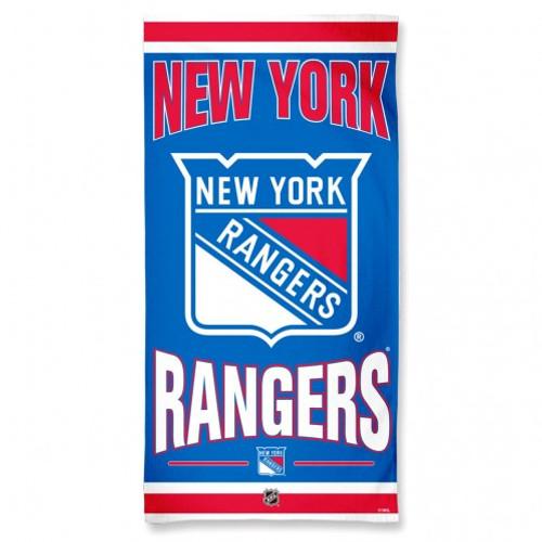 New York Rangers Towel 30x60 Beach Style