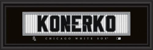 """Chicago White Sox Paul Konerko Print - Signature 8""""x24"""""""