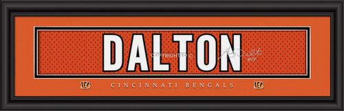 """Cincinnati Bengals Andy Dalton Print - Signature 8""""x24"""""""
