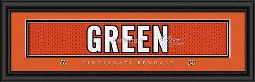 """Cincinnati Bengals A.J. Green Print - Signature 8""""x24"""""""