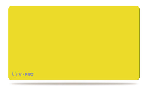 Ultra Pro Playmat - Yellow - Special Order