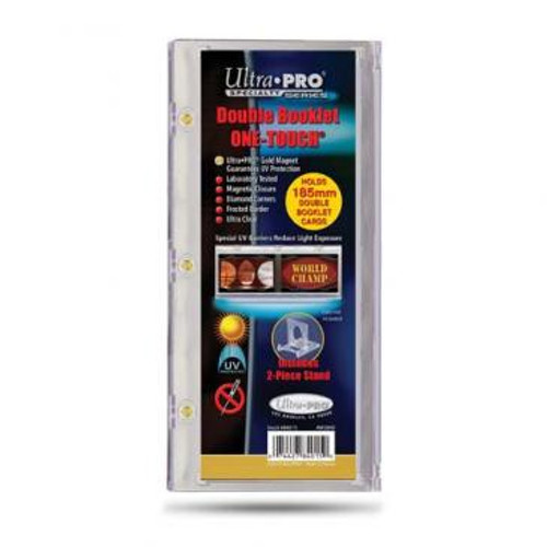 One Touch UV Card Holder - Double Booklet 185mm - Special Order