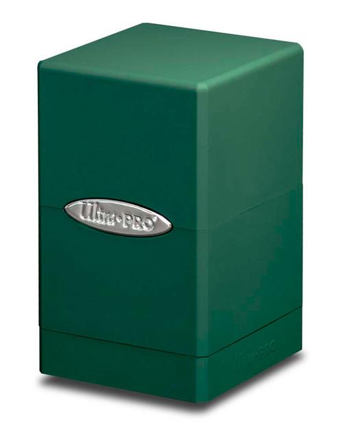 Satin Tower Deck Box - Green