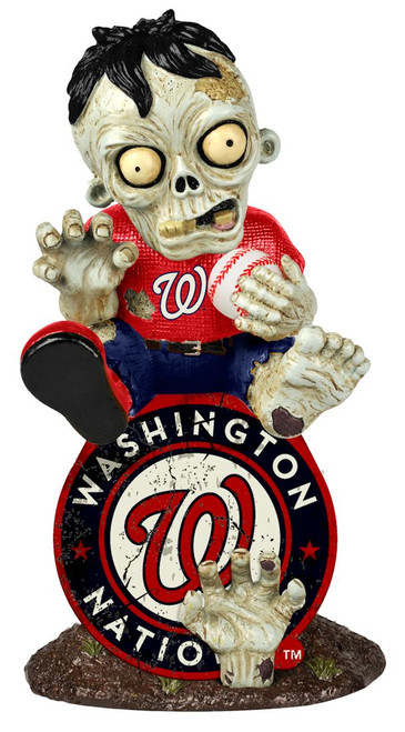 Washington Nationals Zombie Figurine - On Logo