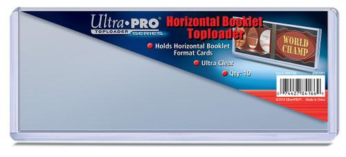 Top Loader Booklet - Horizontal - (10 per pack)