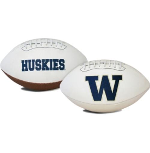 Washington Huskies Football Full Size Embroidered Signature Series - Special Order