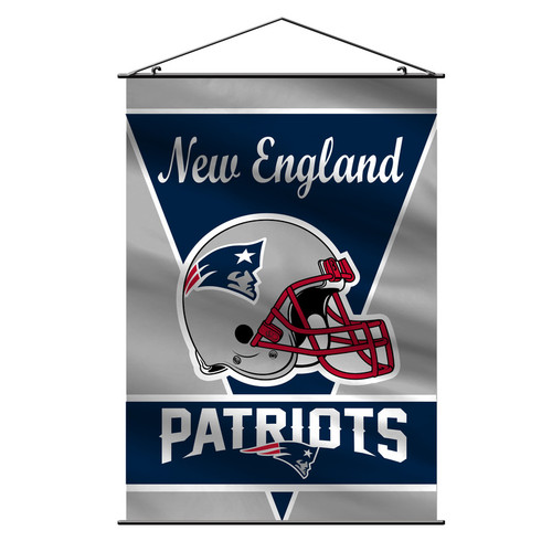 New England Patriots Banner 28x40 Wall Style