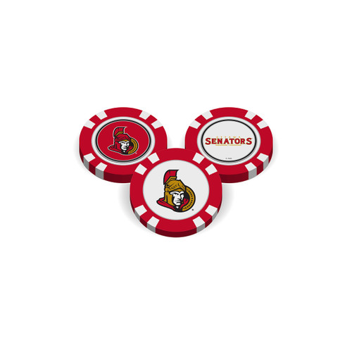 Ottawa Senators Golf Chip with Marker