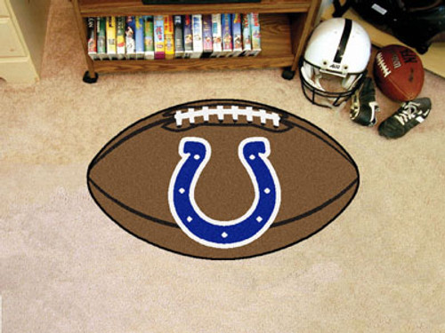 Indianapolis Colts Football Mat 22x35 - Special Order