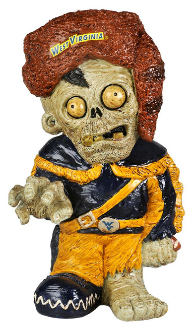 West Virginia Mountaineers Zombie Figurine - Thematic