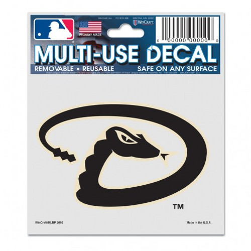 Arizona Diamondbacks Decal 3x4 Multi Use - Special Order