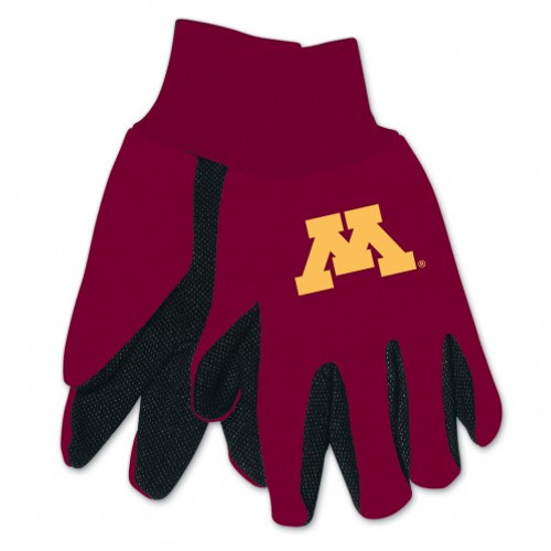 Minnesota Golden Gophers Two Tone Gloves - Adult Size - Special Order