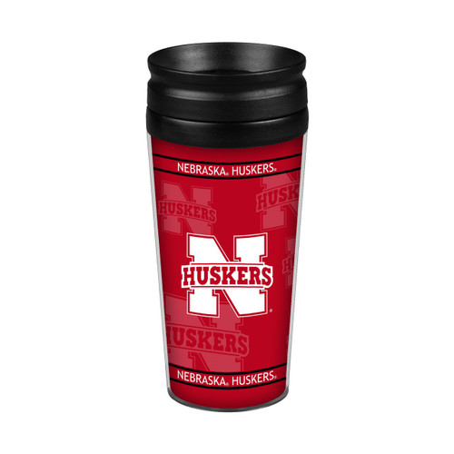 Nebraska Cornhuskers 14oz. Full Wrap Travel Mug