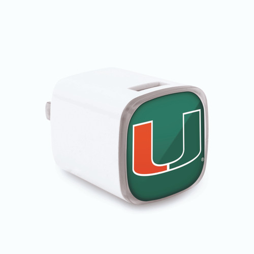 Miami Hurricanes Wall Charger CO