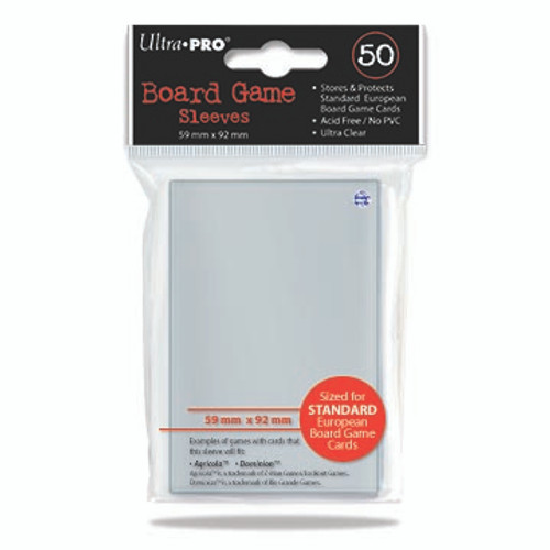 Ultra Pro Board Game Sleeve - European Standard 50pk