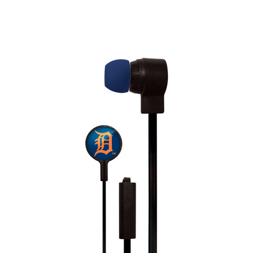 Detroit Tigers Big Logo Ear Buds