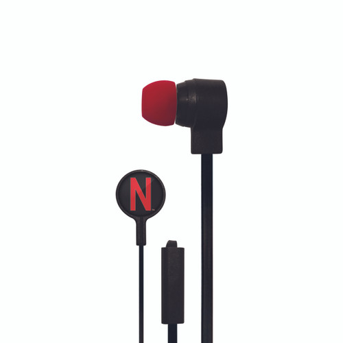 Nebraska Cornhuskers Big Logo Ear Buds