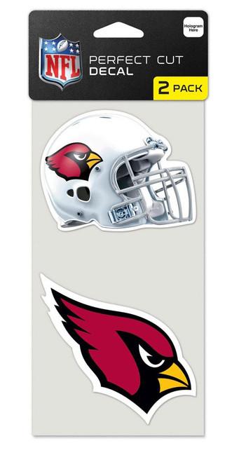 Arizona Cardinals Set of 2 Die Cut Decals - Special Order