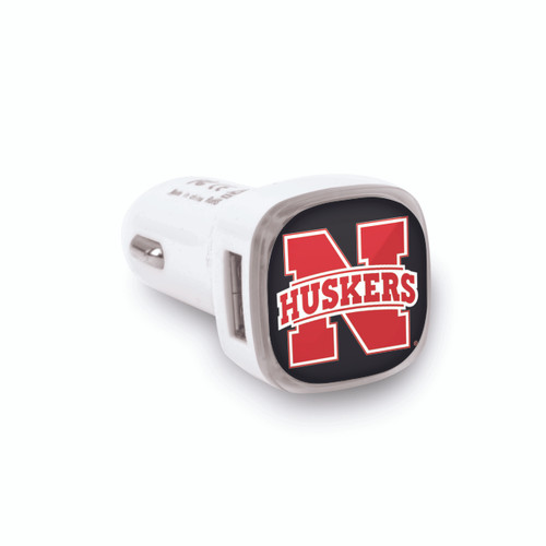 Nebraska Cornhuskers Car Charger
