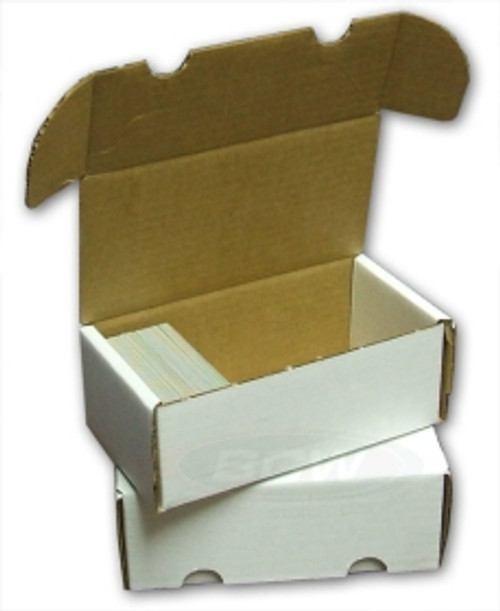 Cardboard - 400 Count Storage Box (Bundle of 50)