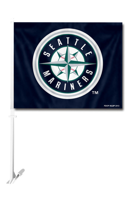 Seattle Mariners Car Flag - Special Order