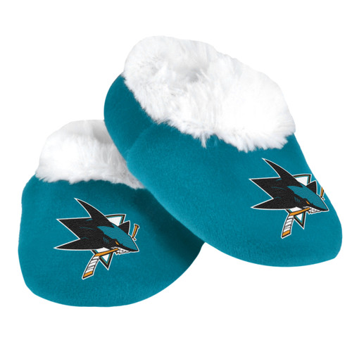 San Jose Sharks Baby Bootie Slippers - 12pc Case  CO