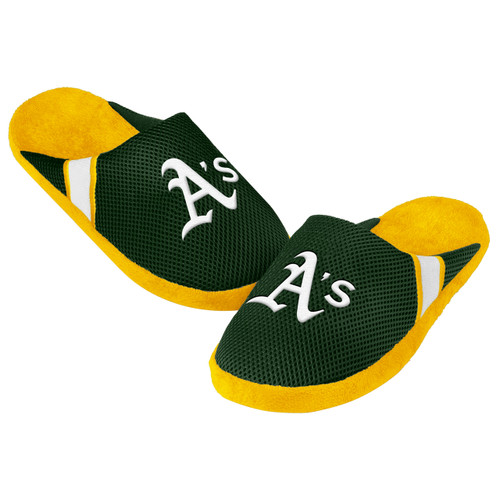 Oakland Athletics Jersey Slippers - 12pc Case CO