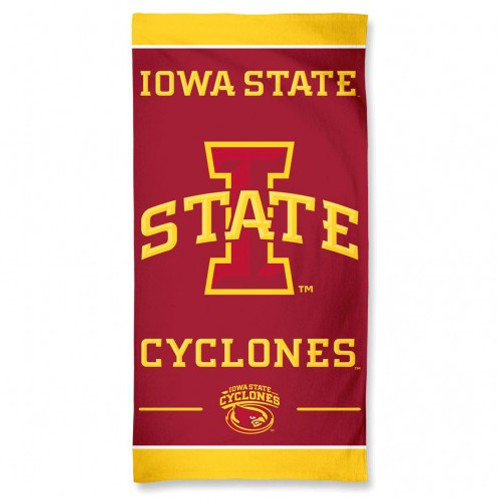 Iowa State Cyclones Towel 30x60 Beach Style