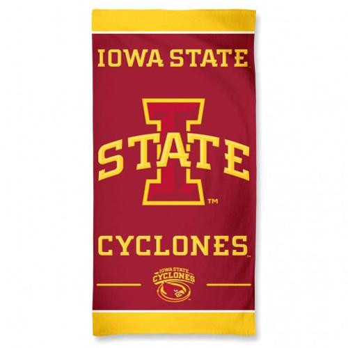Iowa State Cyclones Towel 30x60 Beach Style
