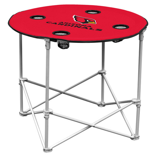 Arizona Cardinals Round Tailgate Table - Special Order