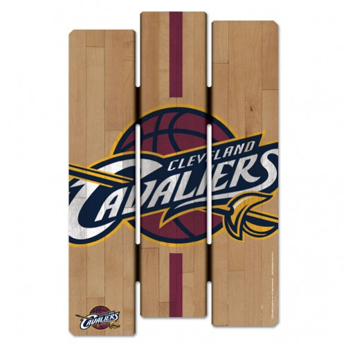 Cleveland Cavaliers Sign 11x17 Wood Fence Style - Special Order