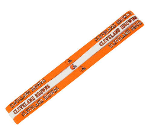 Cleveland Browns Elastic Headbands - New Logo - Special Order