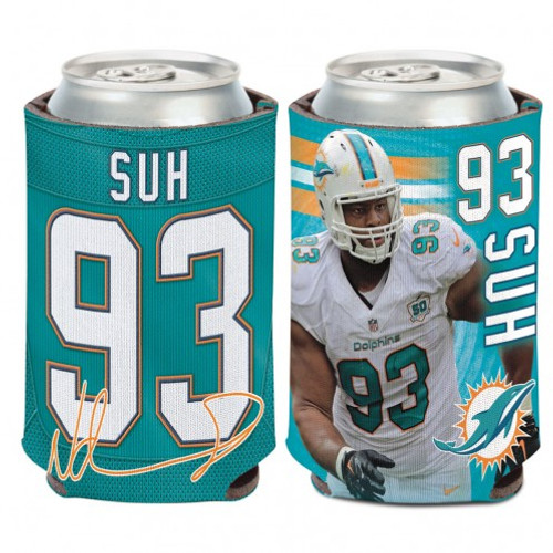Miami Dolphins Ndamukong Suh Can Cooler