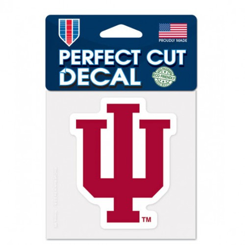 Indiana Hoosiers Decal 4x4 Perfect Cut Color