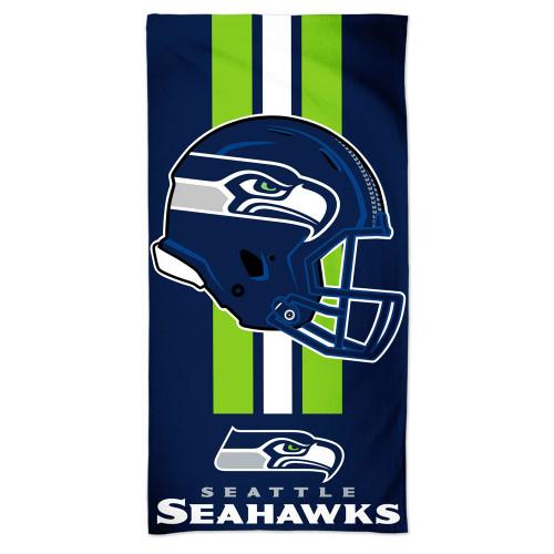 Seattle Seahawks Towel 30x60 Beach Style