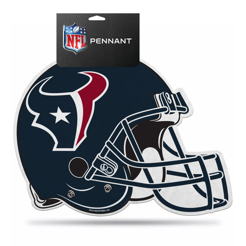 Houston Texans Pennant Die Cut Carded - Special Order