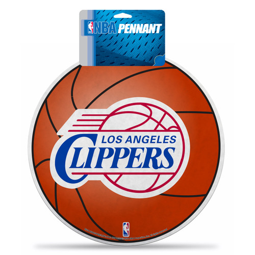 Los Angeles Clippers Pennant Die Cut Carded - Special Order