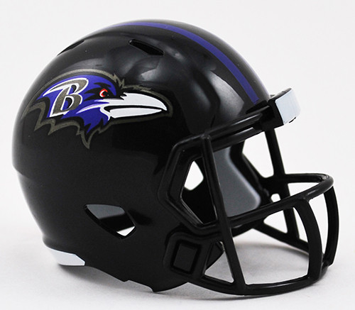 Baltimore Ravens Helmet Riddell Pocket Pro Speed Style