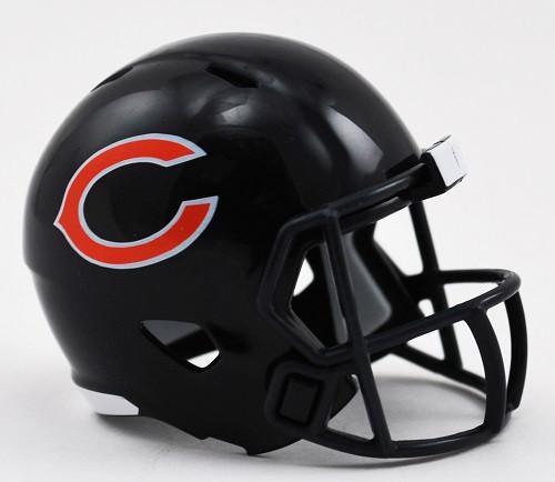 Chicago Bears Helmet Riddell Pocket Pro Speed Style